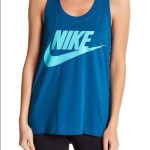 Nike signal swish tank teal